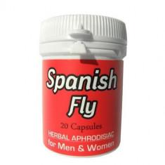 Spanish Fly afrodisiac natural, 20 capsule
