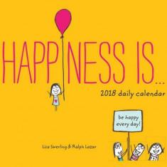 Calendar de birou 2018 - Happiness Is... | Chronicle Books