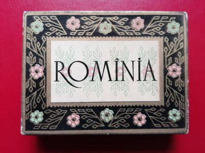Cutie tigari tigarete Rominia + o tigara foto