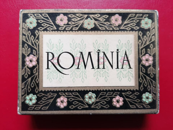 Cutie tigari tigarete Rominia + o tigara