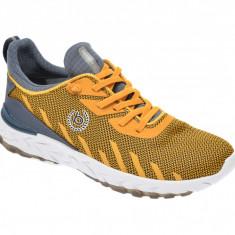 Pantofi sport BUGATTI galbeni, 92860, din material textil