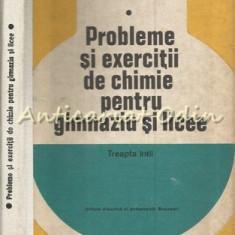 Probleme Si Exercitii De Chimie Pentru Gimnaziu Si Licee - Diaconu Dumitru