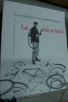 Cahiers de médiologie N°5 La bicyclette foto