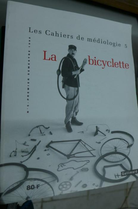 Cahiers de médiologie N°5 La bicyclette