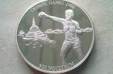 MONEDA 300 NGULTRUM 1992-BHUTAN (ARGINT) (OLYMPIC GAMES '92), Asia