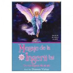 Mesaje de la îngerii tăi (Set de 44 de cărţi oracol şi un ghid)