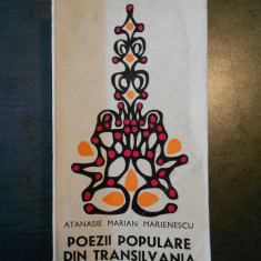 ATANASIE MARIAN MARIENESCU - POEZII POPULARE DIN TRANSILVANIA