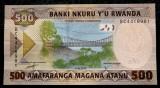Rwanda 500 Francs februarie 2019 UNC necirculata  **