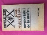 Memorialul de la Mafra, de Jose Saramago, Ed. Univers 1988, impecabila