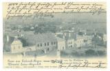 467 - REGHIN, Mures, Panorama, Litho, Romania - old postcard - used - 1902, Circulata, Printata
