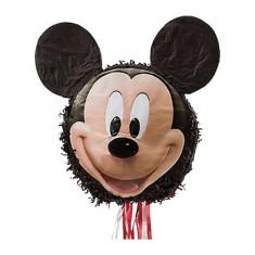 Pinata Party cu panglici Mickey Mouse
