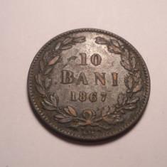 10 bani 1867 Watt