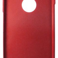 Husa tip capac spate Metallic Mesh rosie pentru Apple iPhone 7 Plus / 8 Plus