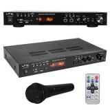 AMPLIFICATOR 2X50W CU BLUETOOTH/USB/SD/FM