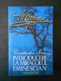 Constantin Noica - Introducere la miracolul Eminescian