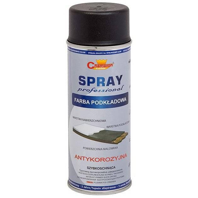Spray primer grund profesional negru mat 400ml