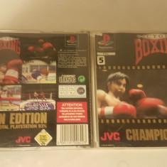 [PSX] Victory Boxing - Champion Edition -  joc original Playstation 1 PS1