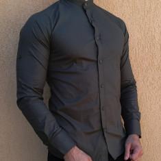 Camasa tunica - camasa cachi slim fit camasa eleganta camasa barbat