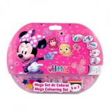 Cumpara ieftin Mega set de colorat 5 in 1 Minnie Mouse