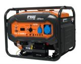 Generator Curent Electric O-Mac GT 16000E-A, 10 kW, 16 CP, 220 V, Benzina