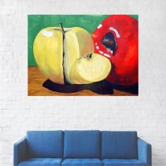 Tablou Canvas, Mere, Fructe - 20 x 25 cm