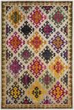 Covor Oriental & Clasic Lunya, Bej/Multicolor, 200x300, Safavieh