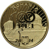 Moneda Aur - 650 de ani de la începutul domniei lui Vladislav I Vlaicu