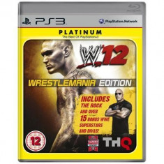 WWE Smackdown vs Raw 2012 Wrestlemania Ed. PS3