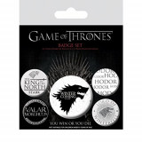 Insigna - Game Of Thrones Winter Is Coming   Pyramid International