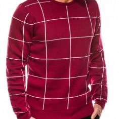 Pulover premium barbati - E163-rosu