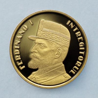 ROMANIA  -  50 Bani 2019  -  Regele Ferdinand I Întregitorul  -  PROOF foto
