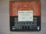 PUCCINI - TURANDOT (CALLAS, NESSI, ZACCARIA, FERNANDI) - 3 discuri, EMI, VINIL, emi records