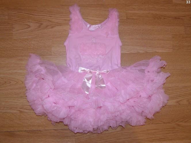 costum carnaval serbare rochie dans balet pentru copii de 9-12 luni 1 ani