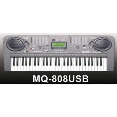 Orga electronica cu 54 clape MQ-808USB cu microfon si citire USB/MP3 foto