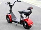 Scuter electric Harley cu baterie detaşabilă, roşu, Harley Davidson