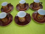 Superb serviciu de cafea, portelan de marca MCB Czechoslovakia