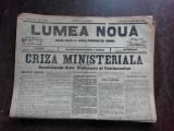 Ziarul Lumea Noua, ziar socialist,organ al P.S.D.-M.R.,Anul III, 800 sambata 8 martie 1897