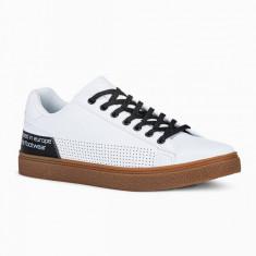 Pantofi casual barbati - T359 - alb