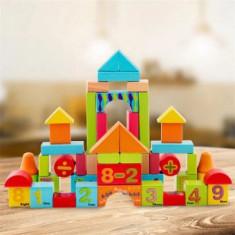 Cuburi de construit din lemn 50 buc Onshine