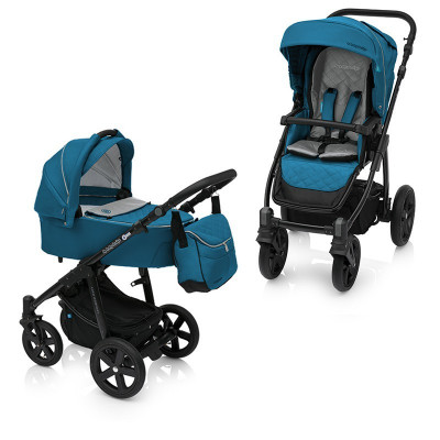 Baby Design Lupo Comfort 05 Turquoise 2017 - Carucior Multifunctional 2in1 foto