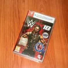 Joc Nintendo Switch - WWE 2K18 , nou , original 100%