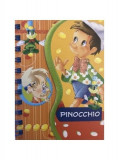 Pinocchio. Poveste și activități (carte cu spirală)