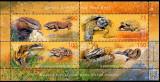 KIRGHIZSTAN, KÂRGÂZSTAN, Kyrgyzstan 2019, Fauna, serie neuzata, MNH, Nestampilat