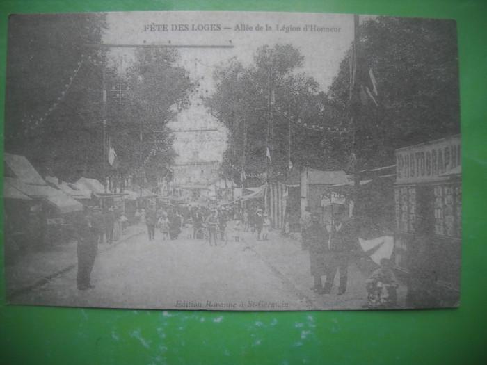 HOPCT 36976  ALEEA LEGIUNII DE ONOARE -SERIA FRANTA 1900-1905-NECIRCULATA