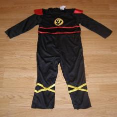 Costum carnaval serbare ninja pentru copii de 1-2 ani, Din imagine