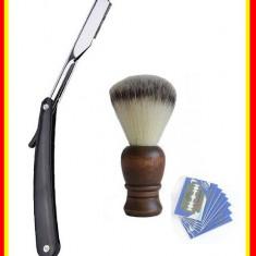 Brici Barbierit Frizerie Brici ras lama clasica+ 5 Lame+ Pamatuf barbierit
