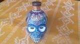 Sticla decorativa pictata manual #Halloween, model mexican # Dia de los muertos.