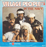 """Village People - In The Navy (1979, Metronome) Disc vinil single 7"""""""