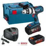 Bosch GSB 36 VE-2 LI Masina de gaurit cu percutie cu acumulator, 36V + 2 x Acumulatori GBA 36V 4.0Ah + Incarcator AL 3640 CV + L-Boxx 238 - 3165140683