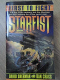 FIRST TO FIGHT. STARFIST BOOK 1-DAVID SHERMAN AND DAN CRAGG
